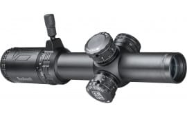 Bushnell AR71824I AR Optics 1-8x 24mm Obj 100-16 ft @ 100 yds FOV 30mm Tube Black Matte Finish Illuminated BTR-1 (SFP)