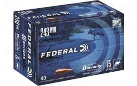 Federal V22250VM2B 22250 55 Vmax Bulk - 50rd Box