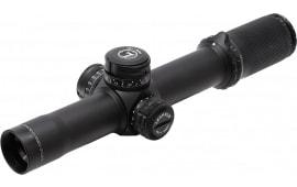 Leupold 116670 Mark 8 1.1-8x 24mm Obj 92 ft-14.7 ft @ 100 yds FOV 34mm Tube Dia Black Matte Illuminated Cmr-w 7.62