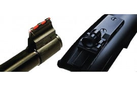 Williams 63330 FireSight Ruger 22 Red FO Front, Peep Rear