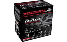 """Winchester Ammo XSC123T Drylock Super Steel Magnum 12GA 3"""" 1 1/4oz T Shot - 25sh Box"""