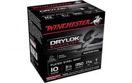 """Winchester Ammo XSC10T Drylock Super Steel Magnum 10GA 3.5"""" 1 5/8oz T Shot - 25sh Box"""