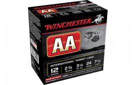 "Winchester Ammo AANL127 AA International 12GA 2.75"" 7/8oz #7.5 Shot - 25sh Box"