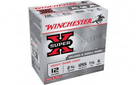 "Winchester Ammo XU12H6 Super-X Heavy Game Load 12GA 2.75"" 1 1/8oz #6 Shot - 25sh Box"