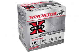 "Winchester Ammo XU206 Super-X Game Load 20GA 2.75"" 7/8oz #6 Shot - 25sh Box"