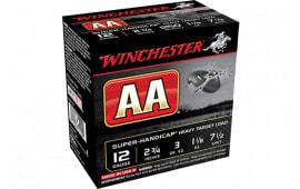 """Winchester Ammo AAHA127 AA Super Handicap 12GA 2.75"""" 1 1/8oz #7.5 Shot - 25sh Box"""