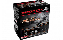 "Winchester Ammo X20PH6 Super Pheasant Magnum High Brass 20GA 2.75"" 1oz #6 Shot - 25sh Box"