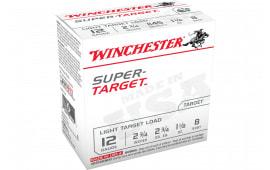 "Winchester Ammo TRGT128 Super Target 12GA 2.75"" 1 1/8oz #8 Shot - 25sh Box"