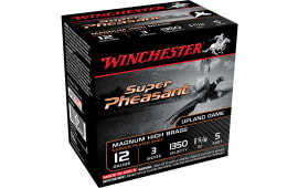 "Winchester Ammo X123PH5 Super Pheasant Magnum High Brass 12GA 3"" 1 5/8oz #5 Shot - 25sh Box"
