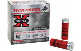 "Winchester Ammo WE20GT7 Super X High Velocity 20GA 2.75"" 3/4oz #7 Shot - 25sh Box"
