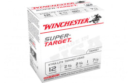 "Winchester Ammo TRGTL127 Super Target Xtra-Lite 12GA 2.75"" 1oz #7.5 Shot - 25sh Box"