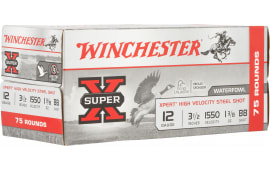 Winchester Ammo WEX12LBBVP Xpert 3.5 13/8 STL 75/2 - 75sh Box