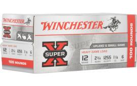 Winchester Ammo XU12H6VP Supx Hvygame - 100sh Box