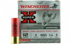 "Winchester Ammo WEX123M3 Super X Xpert High Velocity 12GA 2.75"" 1 1/16oz #3 Shot - 25sh Box"