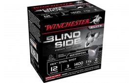 """Winchester Ammo SBS1232 Blindside 12GA 3"""" 1 3/8oz #2 Shot - 25sh Box"""