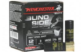 """Winchester Ammo SBS123BB Blindside 12GA 3"""" 1 3/8oz BB Shot - 25sh Box"""