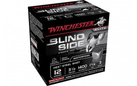 "Winchester Ammo SBS12L3 Blindside 12GA 3.5"" 1 5/8oz #3 Shot - 25sh Box"