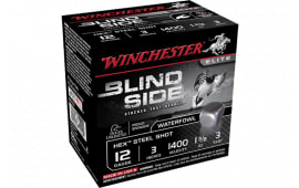 "Winchester Ammo SBS1233 Blindside 12GA 3"" 1 3/8oz #3 Shot - 25sh Box"