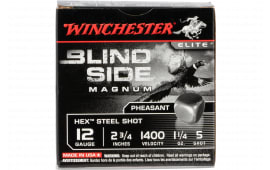 Winchester Ammo SBSPH125 Blindside 12 5 2.75 - 25sh Box