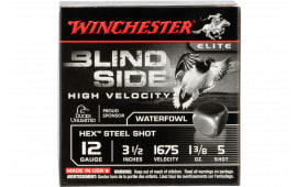 "Winchester Ammo SBS12LHV5 Blindside High Velocity 12GA 3.5"" 1 3/8oz #5 Shot - 25sh Box"