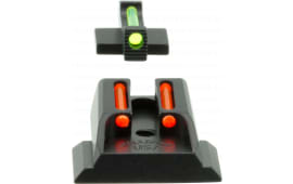 Williams 70972 FireSight Pistol S&W M&P Shield Aluminum Green Aluminum Red Black