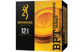 """Browning Ammo B193611228 BPT 12GA 2.75"""" 1 1/8oz #8 Shot - 25sh Box"""