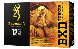 """Browning Ammo B193911235 BXD Turkey 12GA 3"""" 1 5/8oz #5 Shot - 10sh Box"""
