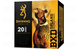 """Browning Ammo B193832027 BXD Upland 20GA 2.75"""" 3/4oz #7 Shot - 25sh Box"""