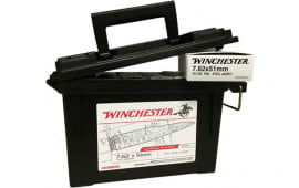 Winchester Ammo USA76251AC 7.62mmX51mm NATO 147 GR FMJ 120Ammo Can