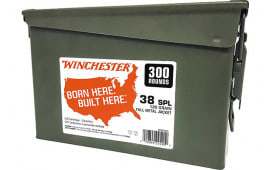 Winchester Ammo WW38C 38 130 FMJ CAN - 600rd Case