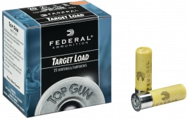 "Federal TG208 Top Gun 20GA 2.75"" 7/8oz #8 Shot - 25sh Box"