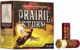 """Federal PF129FS6 Prairie Storm 12GA 3"""" 1-5/8oz #6 Shot - 25sh Box"""