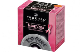 "Federal TGL12P8 Top Gun Special Edition Pink 12GA 2.75"" 1 1/8oz #8 Shot - 25sh Box"