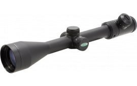 "Weaver Optics 849804 Kaspa 3-9x 40mm Obj 32.6-9.9 ft @ 100 yds FOV 1"" Tube Dia Black Matte Illuminated Dual-X Crosshair"