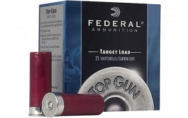 "Federal TG12EL8 Top Gun 12GA 2.75"" 7/8oz #8 Shot - 25sh Box"