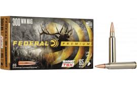 Federal P300WR Premium 300 Win Mag Barnes TSX-Bullet 165 GR - 20rd Box