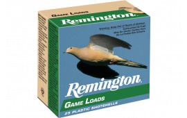 "Remington Ammunition GL208 Lead Game Loads 20GA 2.75"" 7/8oz #8 Shot - 25sh Box"