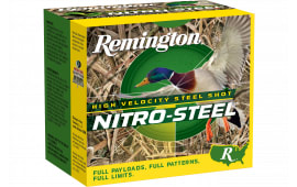 "Remington Ammunition NS12M1 Nitro Steel 12GA 3"" 1 1/4oz #1 Shot - 25sh Box"