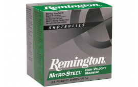 "Remington Ammunition NS12HM4 Nitro Steel 12GA 3"" 1 3/8oz #4 Shot - 25sh Box"