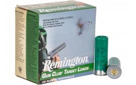 "Remington Ammunition GC12L8 Gun Club 12GA 2.75"" 1 1/8oz #8 Shot - 25sh Box"