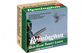 "Remington Ammunition GC208 Gun Club 20GA 2.75"" 7/8oz #8 Shot - 25sh Box"