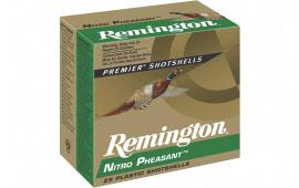 "Remington Ammunition NP12M4 Premier Nitro Pheasant 12GA 2.75"" 1 3/8oz #4 Shot - 25sh Box"