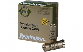 "Remington Ammunition STS410NSC8 Premier Nitro Sporting Clays 410GA 2.5"" 1/2oz #8 Shot - 25sh Box"