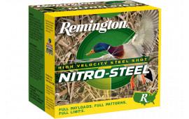 "Remington Ammunition NSI12352 Nitro Steel 12GA 3.5"" 1 1/2oz #2 Shot - 25sh Box"