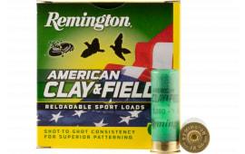 "Remington Ammunition HT12L9 American Clay & Field Sport 12GA 2.75"" 1oz #9 Shot - 25sh Box"