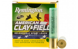 "Remington Ammunition HT4108 American Clay & Field Sport 410GA 2.5"" 1/2oz #8 Shot - 25sh Box"