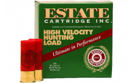 "Estate HV204 Hunting Loads High Velocity 20GA 2.75"" 1oz #4 Shot - 25sh Box"
