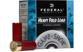 "Federal H2896 Game-Shok Upland Hi-Brass 28GA 2.75"" 1oz #6 Shot - 25sh Box"