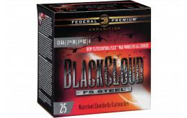 "Federal PWBX1474 Black Cloud FS Steel 12GA 2.75"" 1 1/8oz #4 Shot - 25sh Box"