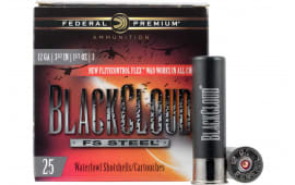 "Federal PWBX1343 Black Cloud FS Steel 12GA 3.5"" 1 1/2oz #3 Shot - 25sh Box"